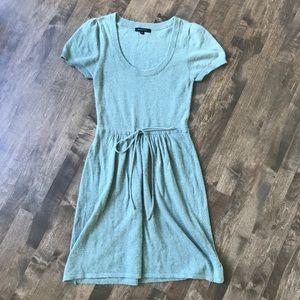 BCBGMaxAzria sage green angora wool soft dress